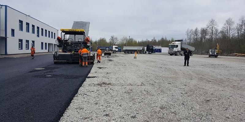 InfraRoad asfalteerimistööd