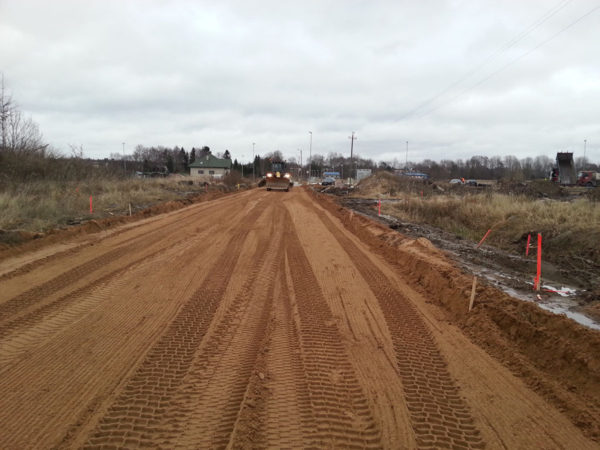 InfraRoad pinnasetööd